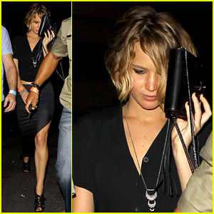 Jennifer Lawrence Leaves Rumored Boyf