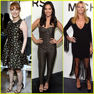 Jessica Chastain, Olivia Munn, & More Stars Hit Up the Michael Kors Fashion Show!