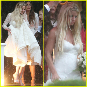 Ashlee Simpson's Wedding Dress Revealed - See Pics From Her Wedding Ceremony!