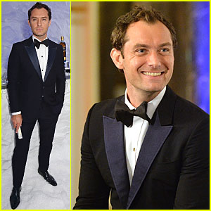 Jude Law Dresses to Impress For 'Symphony in Blue: A Journey T