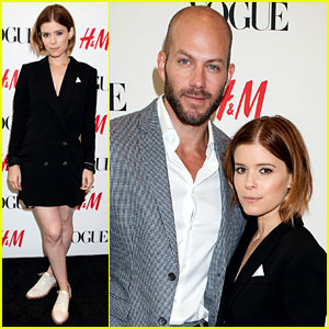Kate Mara & Stylist Johnny Wujek Unveil Windows for H&M!
