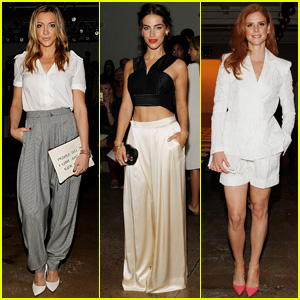 Katie Cassidy & Jessica Lowndes are Houghton Show Hotties