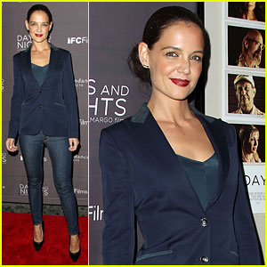 Katie Holmes Premieres New Film 'Days & Nights' at IFC Center