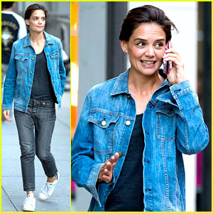 Katie Holmes Responds to 'Dawson's Creek