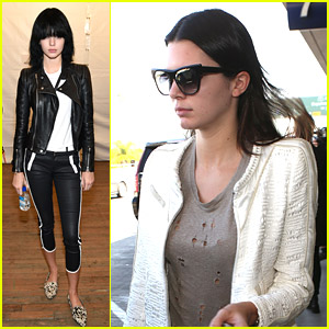Kendall Jenner Says Goodbye To New York After Fashion Week