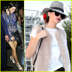 Kendall Jenner Sparkles at Vogue Italia's 50th Anniversary