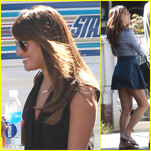 Lea Michele Gets Ready to Say Goodbye to 'Glee'