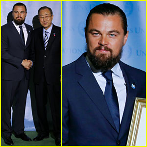 Leonardo DiCaprio Gets UN Messenger of Peace Hon