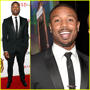 Michael B. Jordan Is Dapper As Can Be at Adcolor Awards