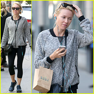 Naomi Watts Listens to Her Whole Body in New York City