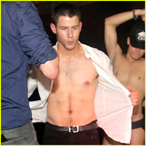 Nick Jonas Does a Sexy Striptease at NYC Gay Club! (Video)