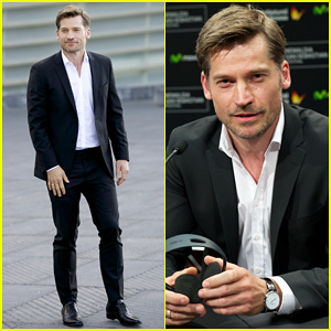 Nikolaj Coster-Waldau Suits Up for 'A Second Chance' San Sebastian Festival Photo Call!