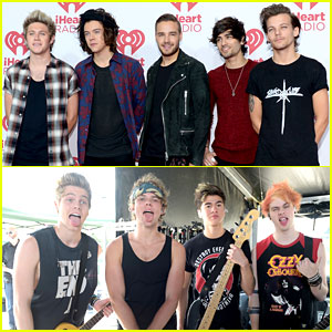 One Direction & 5 Seconds of Summer Make Our Hearts Throb at iHeartRadio Music Festival 2014!
