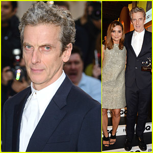 Jenna Coleman Brings Her New 'Doctor' Peter Capaldi to GQ Men Of The Year Awards 2014