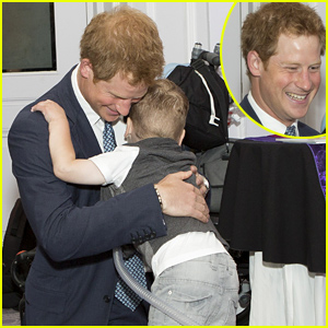 Prince Harry Gets a Big Hug From a Sick Child, Celebrates Courageous Children at the WellChild Awards