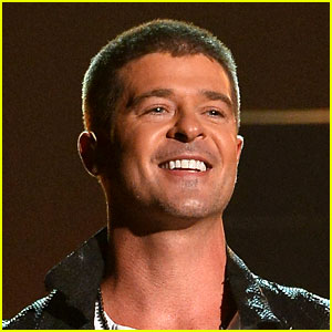 Robin Thicke Says He Was Hi