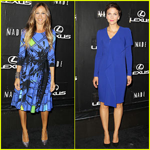 Sarah Jessica Parker Disrupts the Design with Lexus for NYFW
