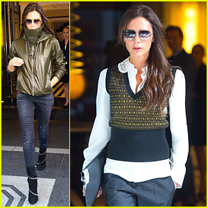 Victoria Beckham Gets Back to Business After UN Conference