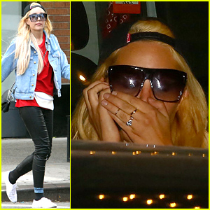 Amanda Bynes Reportedly Wasn't Happy Someone Took Her Picture Last Night