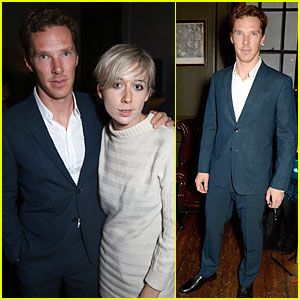 Benedict Cumberbatch is Handsome Host at 'Flaunt' Grind Party