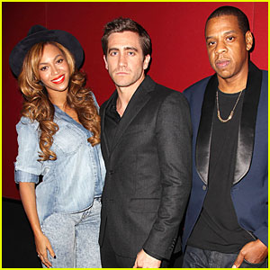 Beyonce & Jay Z Support Jake Gyllenhaal & His Film 'Nightcrawler'!