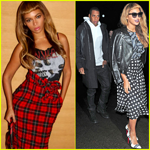 Beyonce Shares Some Sexy Snaps with Her Hot New Short Bangs Hair Style