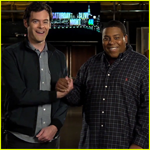 Bill Hader Jokes About 'Saturday Night Live' Diversity in New Promos with Kenan Thompson - Watch Now!