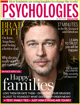 Brad Pitt on Being a Father: 'It's the Most Beautiful Thing'
