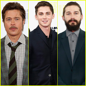Brad Pitt is a Tough Guy to Punch, Says Co-Star Logan Lerman