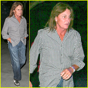 Bruce Jenner Lets His Long Hair Down & Still Wears Wedding Ring