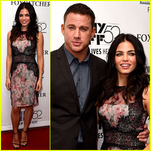 Channing Tatum & Jenna Dewan Are Picture Perfect at 'Foxcatcher' NYFF Premiere!