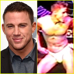 Watch Channing Tatum Do a Sexy Striptease at Age