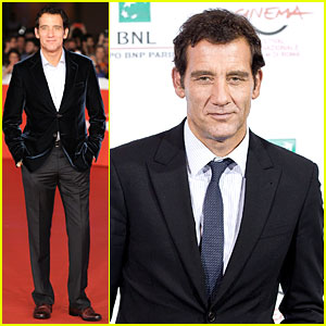 Clive Owen is Dapper in Velvet at 'The Knick' Premiere in Rome!