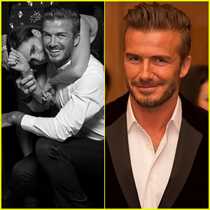 David & Victoria Beckham Get Super Silly Together in Adorable Pic at His Whiskey Launch