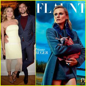 Diane Kruger Flaunts Her Stylish Side with Joshua Jackson!