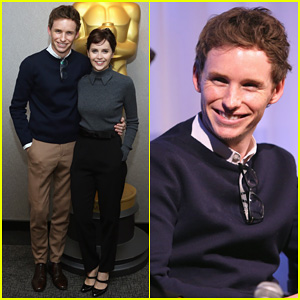 Eddie Redmayne Opens Up on Early Marriage in 'Theory of Everything': 'It's Incredibly Admirable'