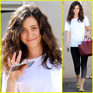 Emmy Rossum Works Out with Lily Collins!