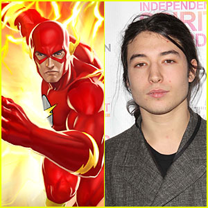 Ezra Miller Becomes 'The Flash' Movie Star
