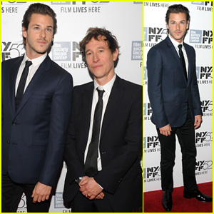 Gaspard Ulliel Suits Up to Premiere 'Saint Laurent' at New York Film Festival!