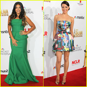 Jane The Virgin's Gina Rodriguez Glams Up The ALMA Awards 2014