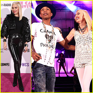 Pharrell Williams & Gwen Stefani Close Out We Can Survive Concert - Watch Now!