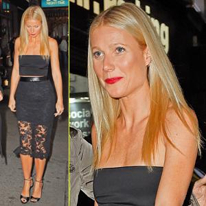 Gwyneth Paltrow Supports Mom Blythe Danner on Broadway
