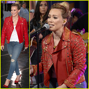 Hilary Duff Performs 'All About You' Live on 'GMA' After 'Younger' Trailer Debuts - Watch Now!