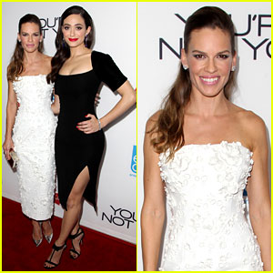 Hilary Swank & Emmy Rossum Bring Pure Class to 'You're Not You' Premiere