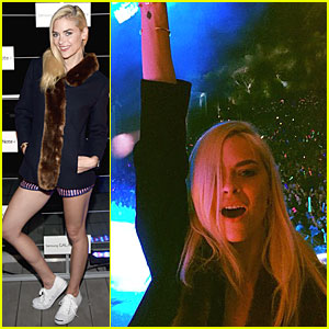 Jaime King Rocks Out & Supports Taylor Swift at We Can Survive Concert