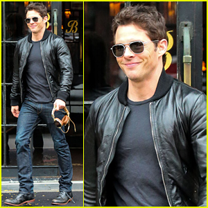 James Marsden Caused a 'Frenzy of Screaming Women' at a Movie Screening!
