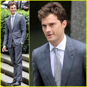 Jamie Dornan Is Back as Christian Grey for 'Fifty Shades of Grey' Reshoots - See the New Set Photos!
