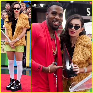 Jason Derulo Teams Up with Charli XCX for AMA Nominations Announcement