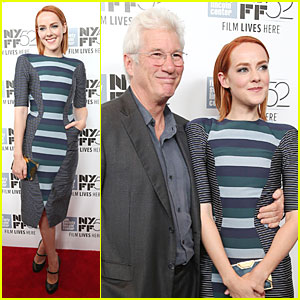 Jena Malone & Richard Gere Look Happy To Premiere 'Time Out Of Mind' in NYC