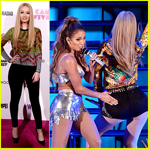 Jennifer Lopez Taps Iggy Azalea's 'Booty' at We Can Survive!